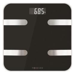 Smart personvåg med Bluetooth, Forever Smart Scale AS-100, svart