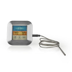Stektermometer   0-250 °C   färgdisplay   timer