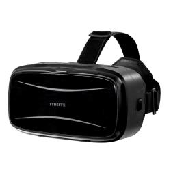 """STREETZ virtuella 3D-glasögon (VR) för smartphones max 5,9"""", 42m"""