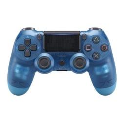 Trådlös handkontroll till PS4, Blå/Transparent