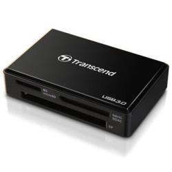 Transcend Multiläsare F8 USB 3.0 Svart (TS-RDF8K)