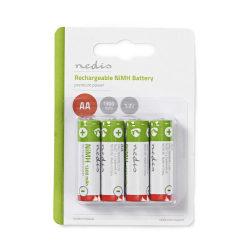 Uppladdningsbart Ni-MH-batteri AA | 1.2 V | 1300 mAh | 4 delar |