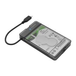 USB 3.1 Gen2 HDD-adapter, skyddande låda, upp till 12,5 mm, 10 G