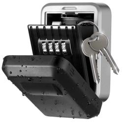 Väderbeständigt nyckelskåp med kodlås