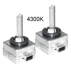 Xenonlampor, D1S 2-pack (4300K)