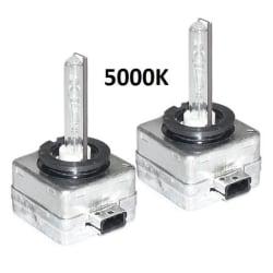 Xenonlampor, D1S 2-pack (5000K)