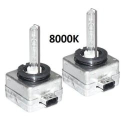 Xenonlampor, D1S 2-pack (8000K)