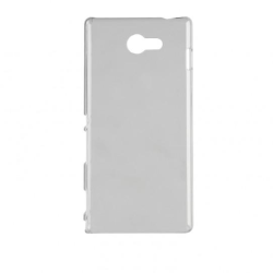 Xqisit, iPlate Glossy, genomskinligt skal till Sony Xperia M2