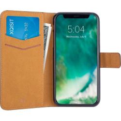 Xqisit Slimmat plånboksfodral till iPhone X/XS