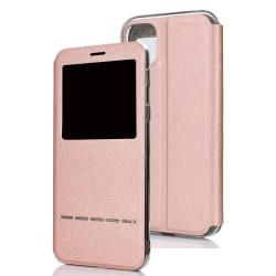 Smidigt Smartfodral Svarsfunktion - iPhone 11 Pro Max Roséguld