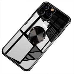 iPhone 11 Pro Max - Elegant Skyddsskal Ringhållare FLOVEME Svart
