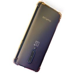 OnePlus 7 Pro - Skyddande Silikonskal Transparent/Genomskinlig