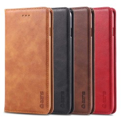 Smidigt AZNS Plånboksfodral - iPhone 8 Plus Ljusbrun