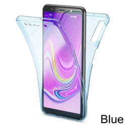Praktiskt Smart Dubbelsidigt Silikonskal - Samsung Galaxy A10 Transparent/Genomskinlig