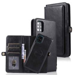 Samsung Galaxy A51 - Genomtänkt Plånboksfodral Svart