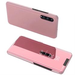 Samsung Galaxy A70 - Lemans Eleganta Smidiga Fodral Roséguld