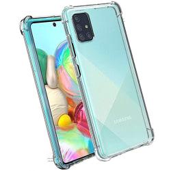 Samsung Galaxy A71 - Skyddsskal Transparent/Genomskinlig