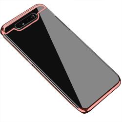 Samsung Galaxy A80 - Elegant Stötdämpande Silikonskal Svart