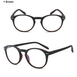 Anti-Blue Ljus Glasögon Brun 3.5