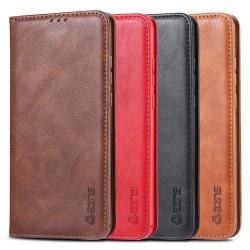Effektfullt AZNS Plånboksfodral - Huawei P Smart 2019 Mörkbrun