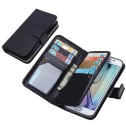 Elegant Plånboksfodral i LÄDER för Samsung S5 från HAISSKY Blå