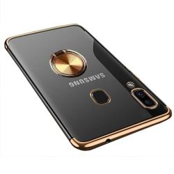 Exklusivt Floveme Skal med Ringhållare - Samsung Galaxy A20E Blå