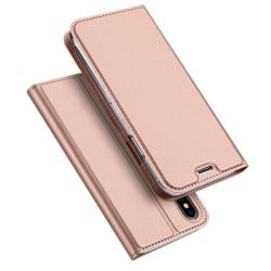 Exklusivt Fodral för iPhone X/XS (SKIN Pro SERIES) Roséguld