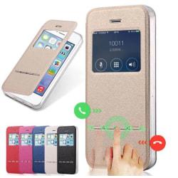 Exklusivt Smartfodral med Fönster & Svarsfunktion iPhone 7 PLUS Svart