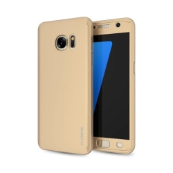 Praktiskt Skyddsfodral för Galaxy S6  (3 delar) Guld