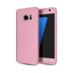 Skyddande Elegant Dubbelsidigt Skal - Samsung Galaxy S7 Edge Guld