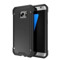Samsung Galaxy S7 Edge - Praktiskt Stötdämpande skal Svart