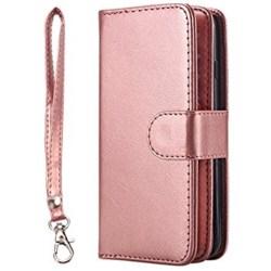 Elegant 9-korts Plånboksfodral för Samsung Galaxy S7 - ROYBEN Roséguld