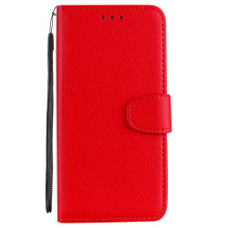 Praktiskt Plånboksfodral (NKOBEE) - Huawei Honor 9 Röd