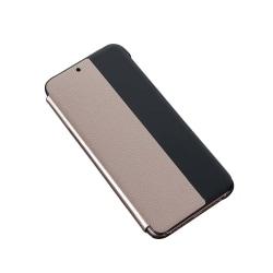 Stilrent Fodral med Smart-View för Huawei P20 Pro Roséguld
