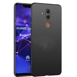 Skyddande Stilsäkert Silikonskal - Huawei Mate 20 Lite Svart