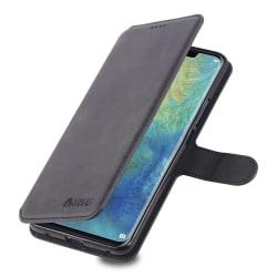 Huawei Mate 20 Pro - Stilsäkert Praktiskt Plånboksfodral Grå