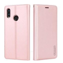 Huawei P Smart 2019 - Plånboksfodral i PU-Läder av Hanman Rosaröd