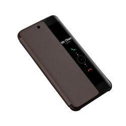 Huawei P20 - Fodral med Smartfunktion från Nkobee Guld