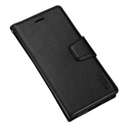 Huawei P20 - Stilrent Läderfodral/Plånbok (Diary) Svart