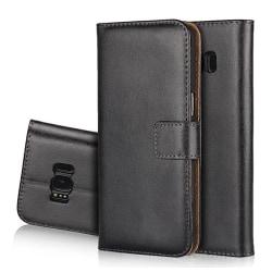 HuTech Stilrena Plånboksfodral för Samsung Galaxy S8 Svart