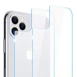 Baksida Skärmskydd iPhone 11 Pro 9H Screen-Fit ProGuard Transparent/Genomskinlig
