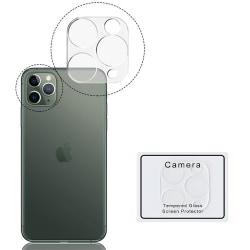 Bakre Kameralinsskydd iPh 11 Pro Max 9H 2.5D FullCover Transparent/Genomskinlig