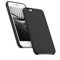Slittåligt Skyddsskal i Silikon - iPhone 6/6S PLUS Svart