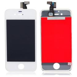 iPhone 4 LCD Display Skärm - Inklusive Verktygskit VIT (AAA+ kva