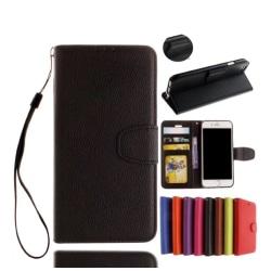 iPhone 5/5S/SE - Stilrent Plånboksfodral från NKOBEE Svart