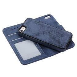 Genomtänkt Plånboksfodral från LEMAN för iPhone 5/5S/SE Svart