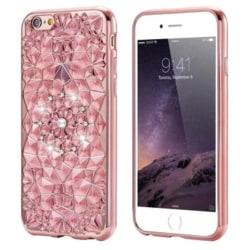 """iPhone 6/6S - Exklusivt Glitter Skal """"Diamond"""" Hög Kvalité Genomskinlig"""