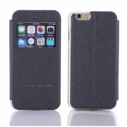iPhone 7 Plus Stilrent Praktiskt Smartfodral med fönster Roséguld