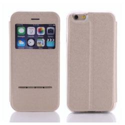 Smartfodral med Fönster & Svarsfunktion för iPhone 7 PLUS Roséguld