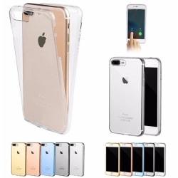 iPhone 7 PLUS - Exklusivt Elegant Silikonfodral TOUCHFUNKTION Genomskinlig